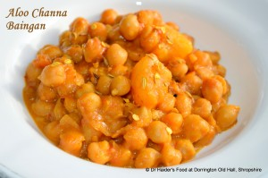 Spicy Potato Chickpea